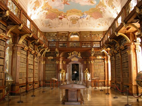 Melk_-_Abbey_-_Library
